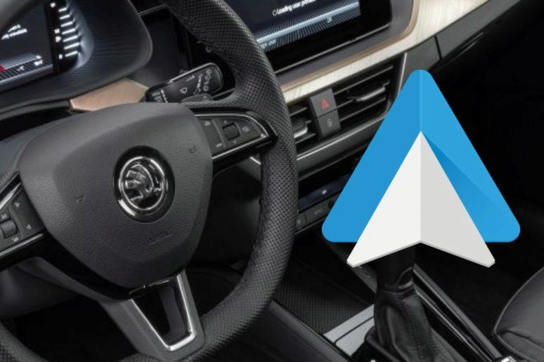 Android Auto Škoda