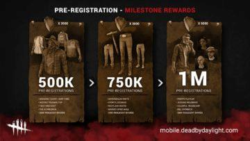 android dead by daylight odmeny predregistrace