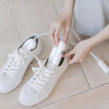 antibakteriální vyhřívač bot