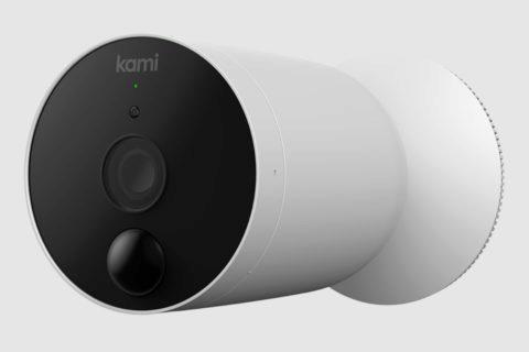bezdrátová venkovní kamera Kami na baterie