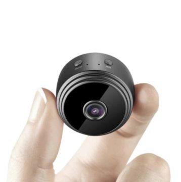 Bezpečnostní kamera s magnetem