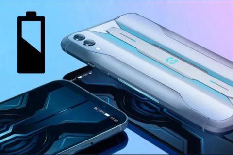 Black Shark 3 baterie nabíjení