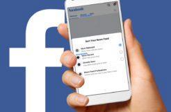 Facebook aplikace News Feed nove karty