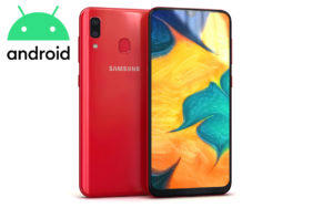 galaxy a30 android aktualizace