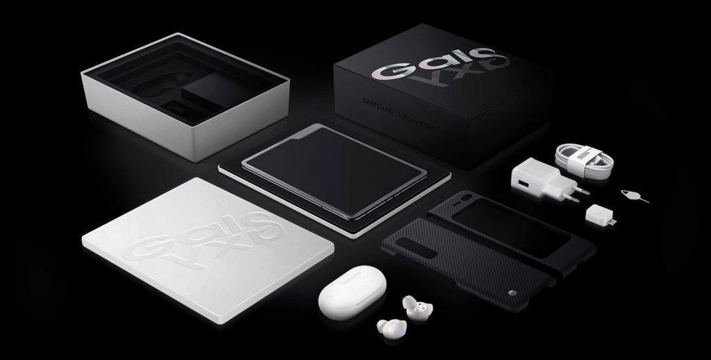 Samsung Galaxy Fold Obsah balení
