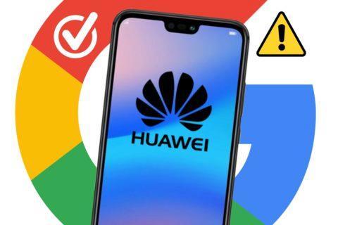 Google Huawei aplikace dobrá zpráva upozornění