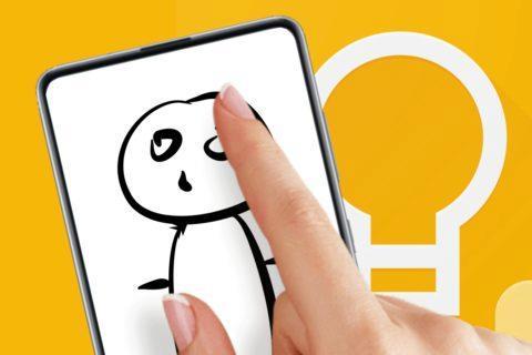 Google Keep kreslení na zamčené obrazovce