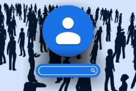 Google Kontakty vyhledávání