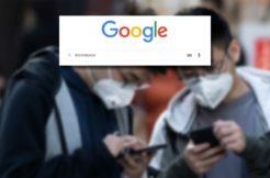 Google vyhledávání koronavirus
