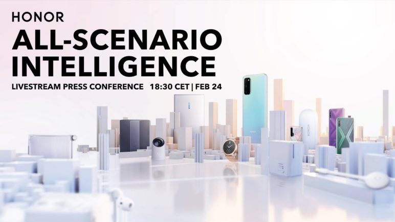 HONOR All-Scenario Intelligence Press Conference
