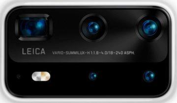 huawei p40 fotoaparát