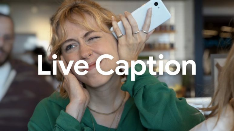 Introducing Live Caption, now on Pixel 4