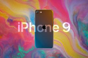 iphone 9 koncept