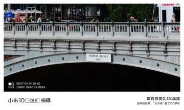 jak fotí Xiaomi Mi 10 město 2