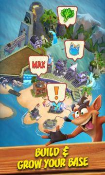 mobilní hra Crash Bandicoot 1