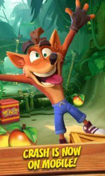 mobilní hra Crash Bandicoot 2