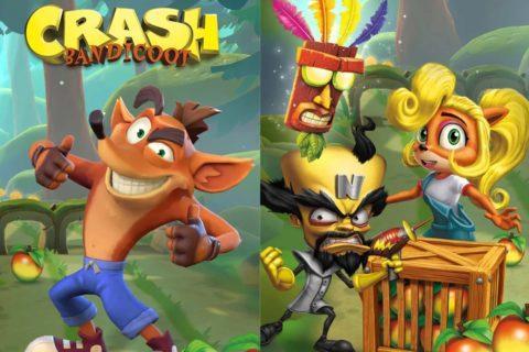 mobilní hra Crash Bandicoot spekulace