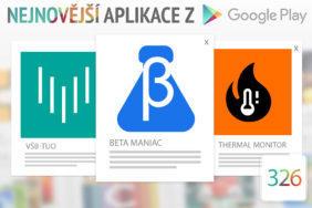 Nejnovější aplikace z Google Play #326: otestujte si nové aplikace