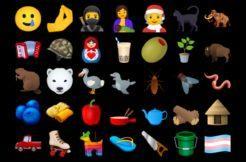 nová emoji unicode 2020