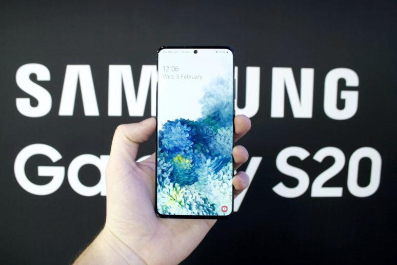 představení řady Samsung Galaxy S20