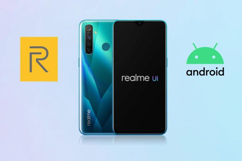 Realme 5 Pro Realme UI Android 10