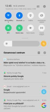 Realme X2 Pro notifikace