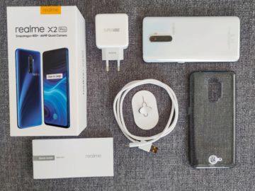 Realme X2 Pro obsah balení
