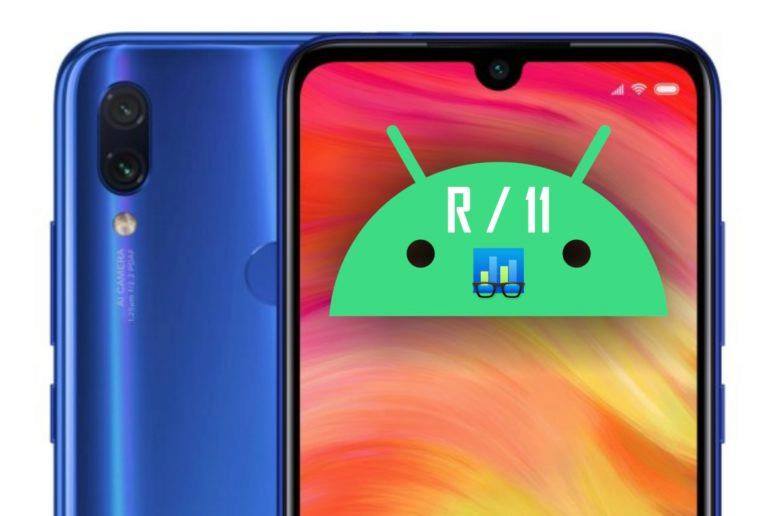 Redmi Note 7 Android 11 Geekbench test