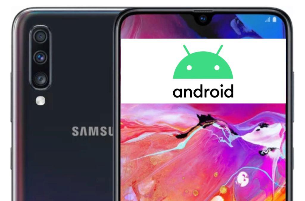 Samsung Galaxy A70 Android 10