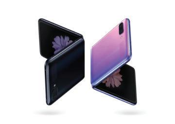 Samsung Galaxy Z Flip barvy