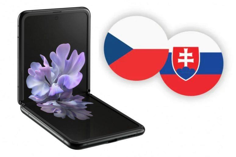 Samsung Galaxy Z Flip ČR SR