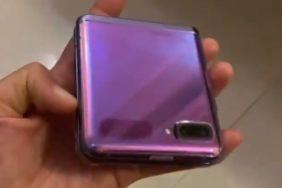 Samsung Galaxy Z Flip video