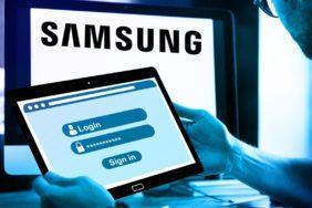 Samsung únik dat