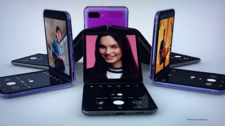 Samsung Z Flip Leaked Commercial