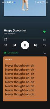 spotify texty u skladeb lyrics