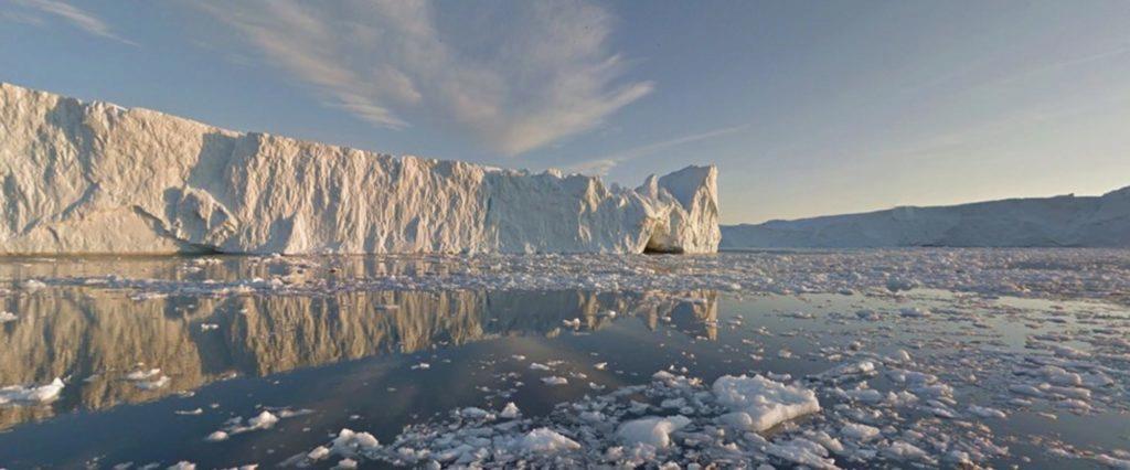 Street View fjord Ilulissat
