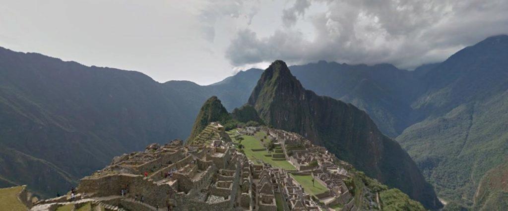 Street View Machu Picchu
