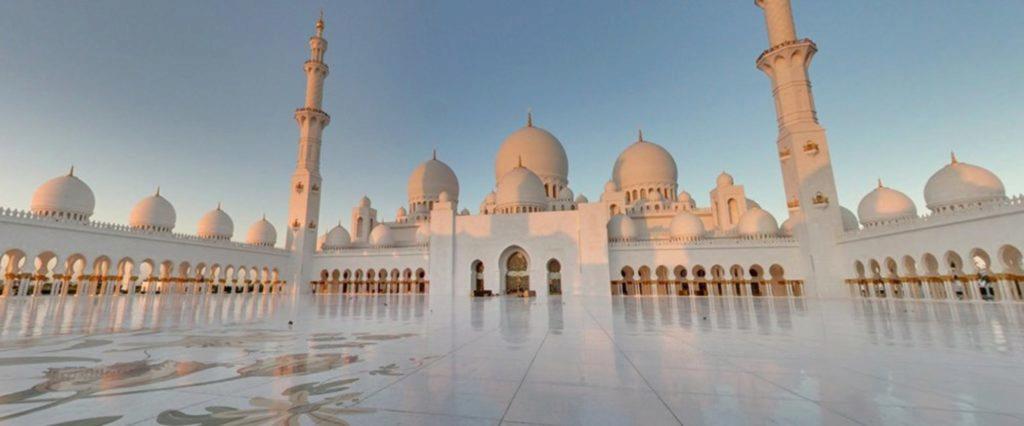 Street View mešita šejka Zayeda