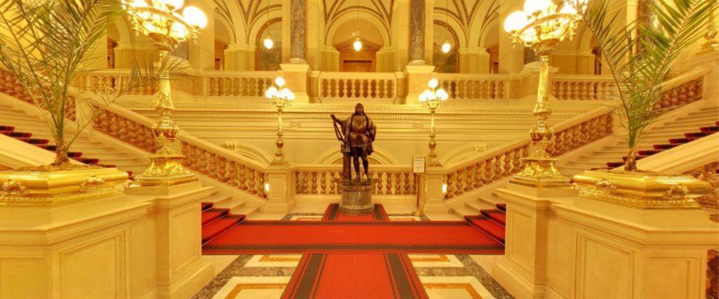 Street View Národní muzeum Praha