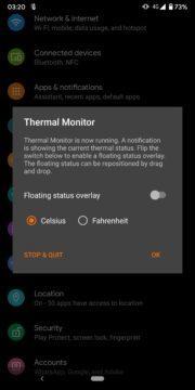 Thermal Monitor - sledujte teplotu telefonu