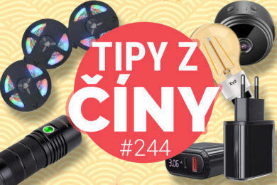 Tipy z ciny - mini bezpečností kamera