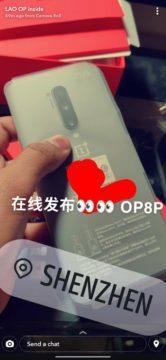 uniklá fotografie OnePlus 8 Pro zdroj