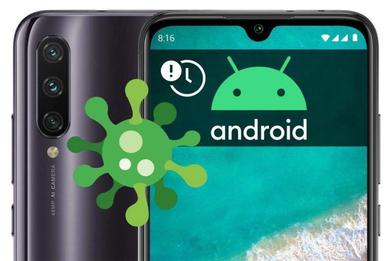 Xiaomi Mi A3 zpožděný update Android 10