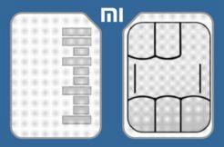 Xiaomi SIM a SD karta v jednom