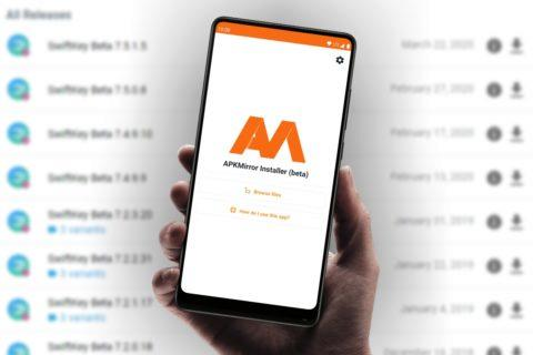aplikace APKMirror Installer
