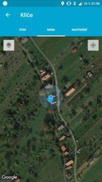 Aplikace Fixed Smile mapa
