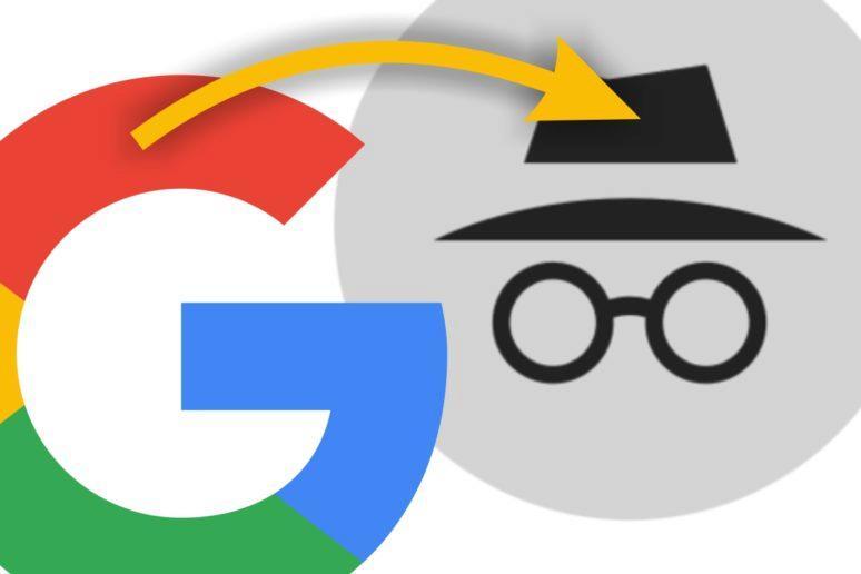 aplikace Google otevírání anonymní karty