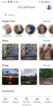aplikace správa fotek