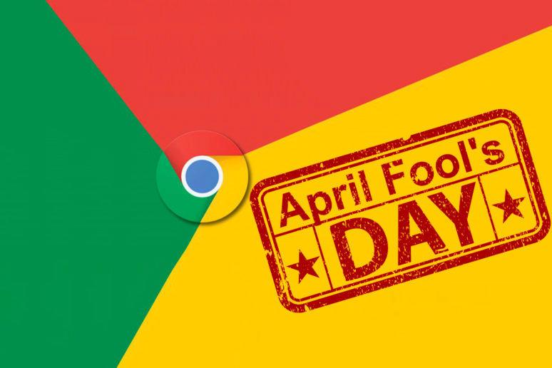 aprílový žertík google