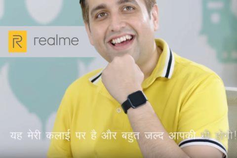 chytré hodinky Realme